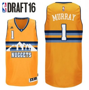 canotte jamal murray 1 denver nuggets draft 2016 giallo
