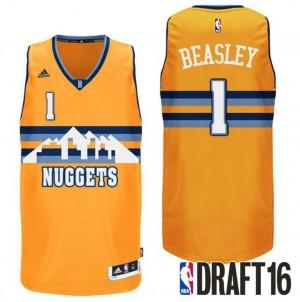 canotte malik beasley 1 denver nuggets draft 2016 giallo