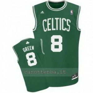 canotte #8 jeff green boston celtics revolution 30 verde