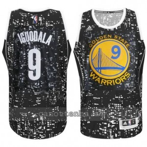 canotte andre iguodala #9 golden state warriors lights nero