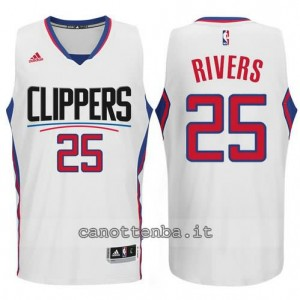 canotte austin rivers #25 los angeles clippers 2015-2016 bianca