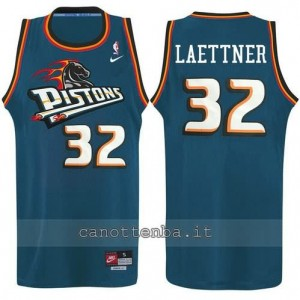 canotte ben wallace #32 detroit pistons alternato