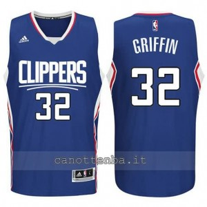 canotte blake griffin #32 los angeles clippers 2015-2016 blu