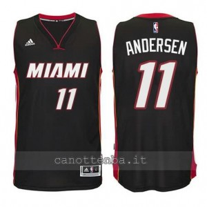 canotte chris andersen #11 miami heat 2014-2015 nero