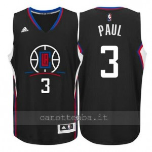 canotte chris paul #3 los angeles clippers 2015-2016 nero