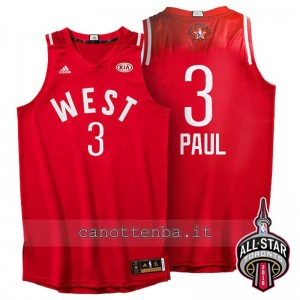 canotte chris paul #3 nba all star 2016 rosso