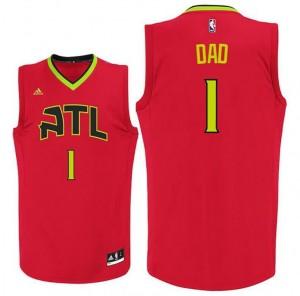 canotte dad logo 1 atlanta hawks 2015-2016 rosso