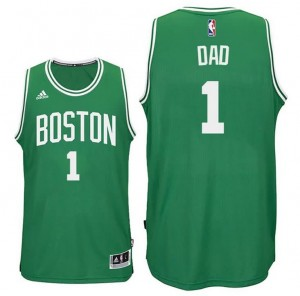 canotte dad logo 1 boston celtics 2015-2016 verde