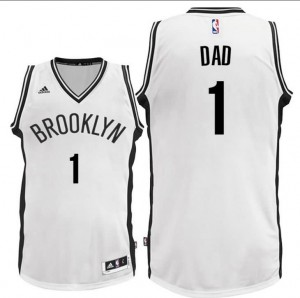 canotte dad logo 1 brooklyn nets 2016 bianca