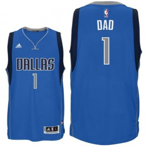 canotte dad logo 2 dallas mavericks 2015-2016 blu