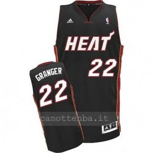 canotte danny granger #22 miami heat revolution 30 nero