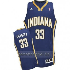 canotte danny granger #33 indiana pacers revolution 30 blu