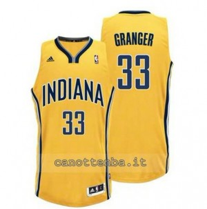 canotte danny granger #33 indiana pacers revolution 30 giallo