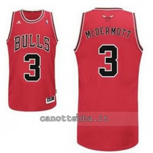 canotte doug mcdermott #3 chicago bulls revolution 30 rosso