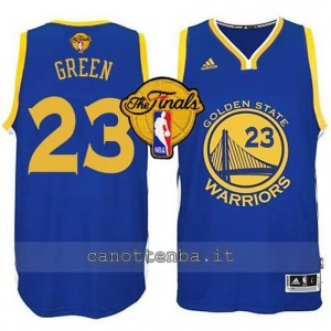 canotte draymond green #23 golden state warriors finale 2015 blu