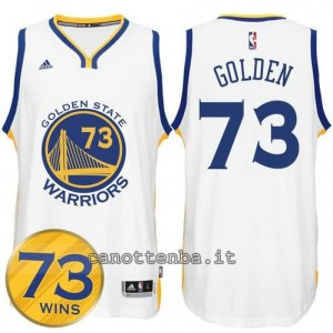 canotte golden state warriors 73 wins 2016 bianca