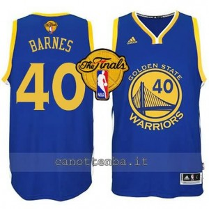 canotte harrison barnes #40 golden state warriors finale 2015 blu