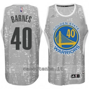 canotte harrison barnes #40 golden state warriors lights grigio