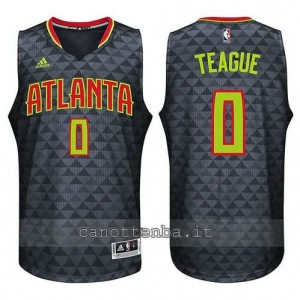 canotte jeff teague #0 atlanta hawks 2015-2016 nero