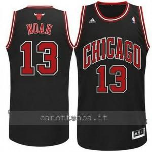 canotte joakim noah #13 chicago bulls revolution 30 nero