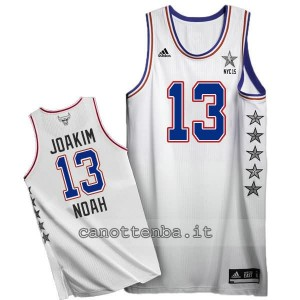 canotte joakim noah #13 nba all star 2015 bianca