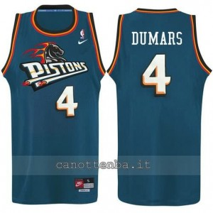 canotte joe dumars #4 detroit pistons alternato