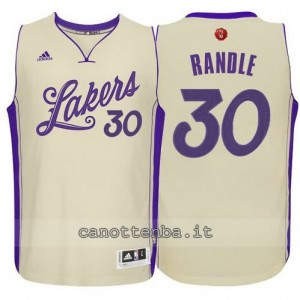 canotte julius randle #30 los angeles lakers natale 2015 giallo