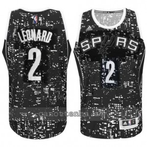 canotte kawhi leonard #2 san antonio spurs lights nero
