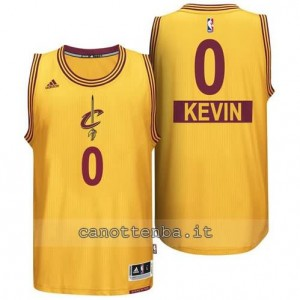 canotte kevin love #0 cleveland cavaliers natale 2014 giallo