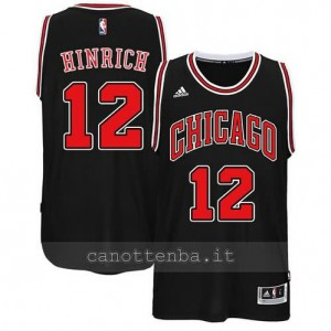 canotte kirk hinrich #12 chicago bulls 2014-2015 nero