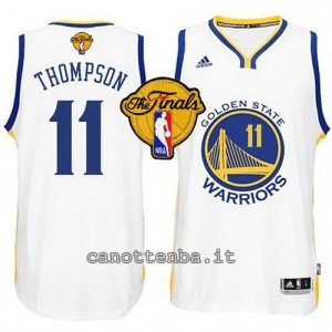 canotte klay thompson #11 golden state warriors finale 2015 bianca