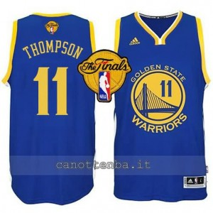 canotte klay thompson #11 golden state warriors finale 2015 blu