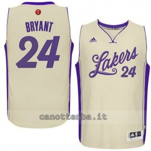 canotte kobe bryant #24 los angeles lakers natale 2015 giallo