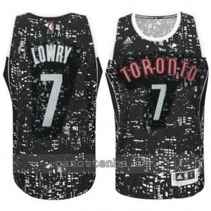 canotte kyle lowry #7 toronto raptors lights nero