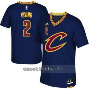 canotte kyrie irving #2 cleveland cavaliers 2015-2016 blu
