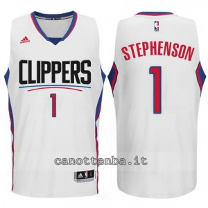 canotte lance stephenson #1 los angeles clippers 2015-2016 bianca