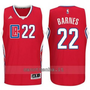 canotte matt barnes #22 los angeles clippers 2015-2016 nero