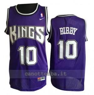 canotte mike bibby #10 sacramento kings porpora