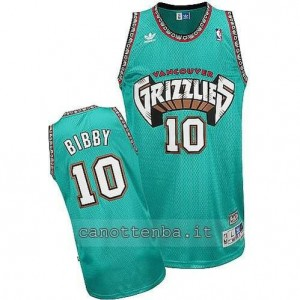 canotte mike bibby #10 vancouver grizzlies blu