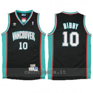 canotte mike bibby #10 vancouver grizzlies nero