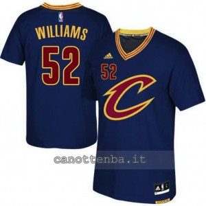 canotte mo williams #52 cleveland cavaliers 2015-2016 blu