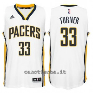 canotte myles turner #33 indiana pacers 2014-2015 bianca
