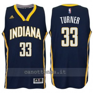 canotte myles turner #33 indiana pacers 2014-2015 blu