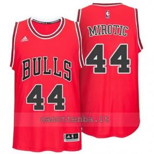 canotte nikola mirotic #44 chicago bulls 2014-2015 rosso