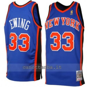 canotte patrick ewing #33 new york knicks 1996-1997 retro