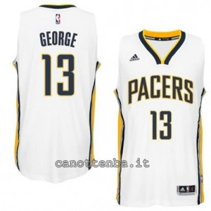 canotte paul george #13 indiana pacers 2014-2015 bianca
