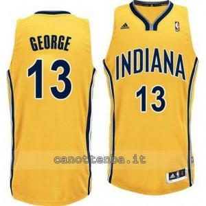 canotte paul george #13 indiana pacers revolution 30 giallo