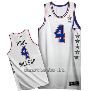 canotte paul millsap #4 nba all star 2015 bianca