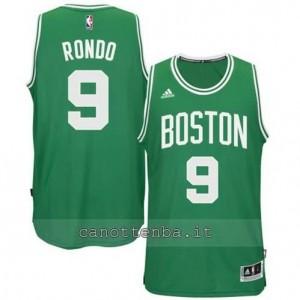 canotte rajon rondo #9 boston celtics 2014-2015 verde