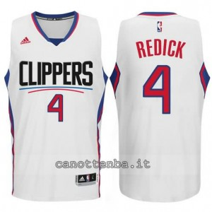 canotte redick #4 los angeles clippers 2015-2016 bianca